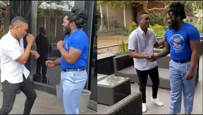 The age difference between Duduzane Zuma and Big Zulu